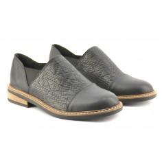 Zapato Cerrado De Cuero