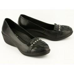 Zapatos Flecos Fragola Cuero
