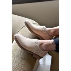 Zapato Pampa de Cuero