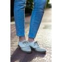 Zapato Berenice Acordonado Cuero
