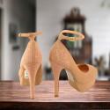 Zapato Clasico Andressa Gamuza