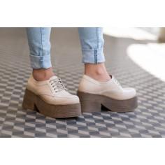 Zapato Sidney de Cuero