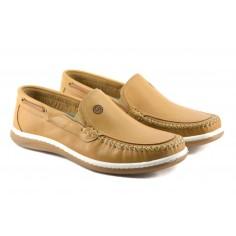 Zapato De Cuero Elastico