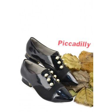 Zapato Charolado Tacon