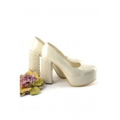 Zapato De Charol Plataforma