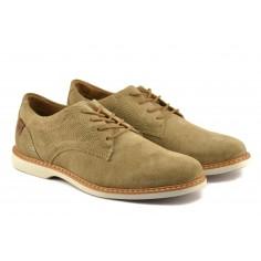 Zapato Slack De Gamuza